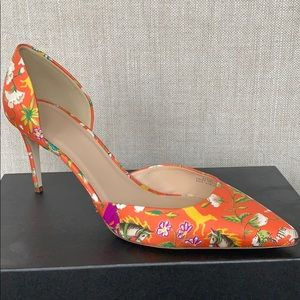 J.Crew Lucie Pumps- D'orsay style